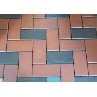 China High Pressed Laying Clay Paving Brick Light Weigh Walkway For Outside Road wholesale