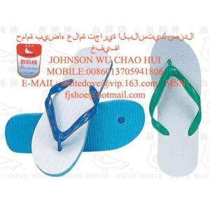 China 2012 most cheap 811 type white dove pvc slipper2 on sale