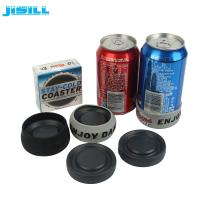 China HDPE Christmas Gift Ice Hockey Puck Round Shape For Holding Beer , Cans Cooling wholesale