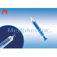 China Disposable Syringe With 5ML 7ML 10 ML LOR Loss Of Resistance Syringe Iso13485 Iso9001 wholesale