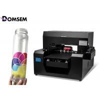 China Cylinder Bottle A3 Size Uv Printing Machine RIP Software For White / Color Ink One Pass wholesale