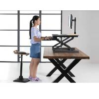 Gas Spring Riser Height Adjustable Standing Desk Ergonomics Monitor Height for sale