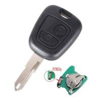 China PEUGEOT 206 433MHZ 2 Buttons NE73 Blade Remote Key Fob Controller With PCF7961 Transponder Chip wholesale