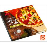 China Italian Eco Friendly Empty Large Pizza Boxes 12 Inch Glossy Varnishing Surface wholesale
