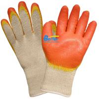 China 10 Guage T/C Yarn Seamless Knitted Shell With Latex Smooth Coated Work Gloves on sale