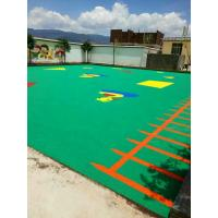 China Colored EPDM Rubber Playground Mats Flooring Moisture Proof Easy To Clean on sale