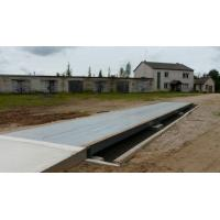 China 3m x14m SCS Truck Weighbridge , 80t Electronic Truck Scales With U Shape Beam on sale