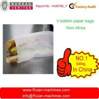China Fully automatic high speed food paper bag making machine wholesale