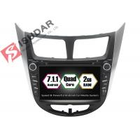 China Rockchip PX3 7 Inch 2 Din Android Car DVD Player For Hyundai Verna / Accent / Solaris wholesale