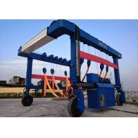 China 40 Tons Shipping Container Crane , Full Hydraulic Drive Mobile Container Crane on sale