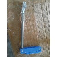 China Metallic And Plastic Blue Crank Hospital Bed Parts For Manual Hospital Bed wholesale
