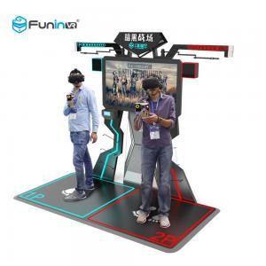 China FPS Arena Gun Shooting 9D Virtual Reality Simulator Space Walk wholesale