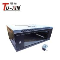 """China 19"""" Wall Mount Server Rack Cabinet International Standard With Glass Door wholesale"""