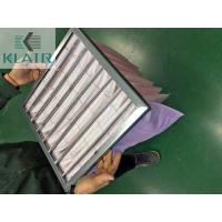 China Commercial Bag Air Filters Air Handling Unit AHU Filter New Standard ISO 16890 Epm1 on sale