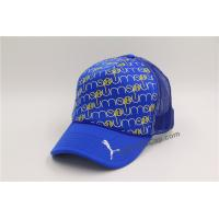 China embroidery and printing  baseball cap with velcro closure  girls sports cap   mesh trucker hat on sale