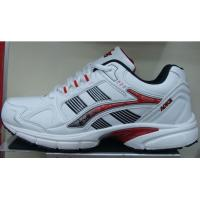 China Sports shoe,PU upper,white/red color wholesale