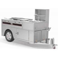 China Muti-Functional Snack Cart Commercial Kitchen Equipments wholesale