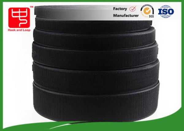 Quality SGS Custom size Fire Retardant hook and loop fastener tape , Heat Resistance for sale