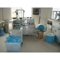 China CE Certification Disposable Non-woven Shoe Cover Manufacturing Machinery 40×16 cm Size wholesale