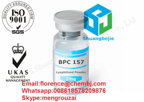 Pentadecapeptide Bpc 157 with 2mg /vial Human Growth Hormone for Bodybuilding