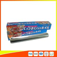 OEM Kitchen Aluminium Foil Roll Food Grade For Cooking / Freezing for sale