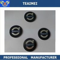 Adhesive Decorative 55mm ABS Wheel Center Cap Stickers For Jaguar