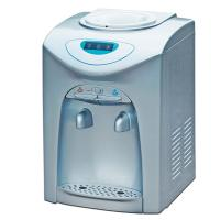 Bottled counter top water dispenser, compressor cooling hot & cold cooler 3 temperature to be option