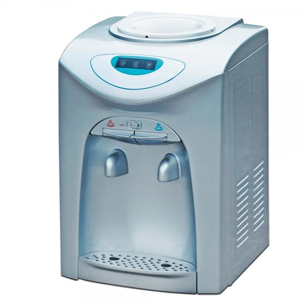 Quality Bottled counter top water dispenser, compressor cooling hot & cold cooler 3 temperature to be option for sale