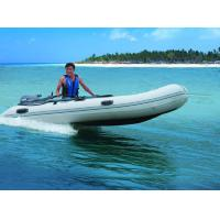 Aluminum Floor Folding Sailing Dinghy , 250cm PVC Roll Up Inflatable Boat With Slat