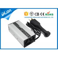 China 48v 6a club car golf cart charger with 2 crow foot plug cc cv floating charging on sale