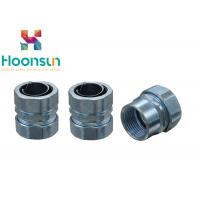 China Zinc Alloly Male Thread Flexible Metal Conduit Fittings Electrical Conduit Connector wholesale