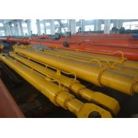China Simple Compact Telescopic Hydraulic Cylinder Flat Gate With Hang Upside Down wholesale