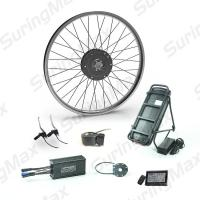 China 48v 350w Brushless Gear Motor , Electric Motor Kit For Mountain Bike on sale