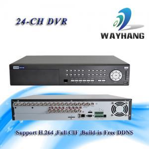 China CCTV 24-CH DVR Standalone H.264 Net DVR Security System HDMI/VGA Surveillance wholesale