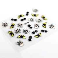 Nail deco Nail Art Decals with Printing Halloween for fingers