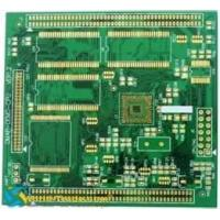 China 4 Layers Multilayer PCB Board with Non - Halogen Material and Immersion Silver Finishing wholesale