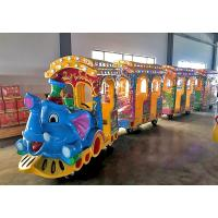 China Small Electric Trackless Train Party Train Entertainment CE Approved on sale