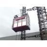 China 2 Ton Single Cage Building Hoist Passenger Material Hoist 3.2 X 1.5 X 2.5M wholesale