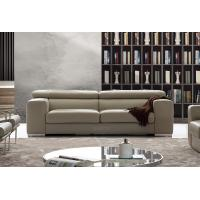 China Leather lobby sofa saloon leather sofas , modern leather sofas wholesale