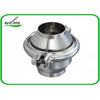 China High Sanitation Sanitary Check Valve For Water Pipelines , Weld Connection End on sale