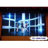 Buy cheap 1800 Nits Brightness Indoor Advertising Led Display Screen HD 4mm Pitch Video from wholesalers