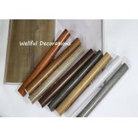 China Long life time PVC Decorative Film 0.07mm X 1000mm with color fastness to light on sale