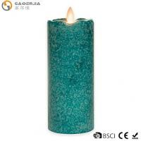 China 7-Inch Flickering Flame LED Pillar Candle wholesale