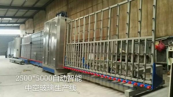 Quality Chaîne de production en verre automatiquement isolante certification de la CE de haute précision for sale
