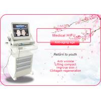 Portable / Vertical HIFU Machine Anti Wrinkle / Face Lift Machine 110-240V 50/60Hz