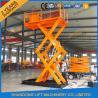 China cargaison de 3T 3.6M chargeant la table élévatrice hydraulique stationnaire de ciseaux d'entrepôt d'ascenseur de ciseaux de Fied wholesale