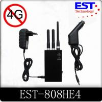 China 4G Portable Cell Phone Jammer / Blocker / Isolator EST -808HE4 For Military wholesale