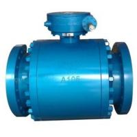 China Fire Safe Trunnion Ball Valve / Fully Welded Body Ball Valves DBB Function wholesale