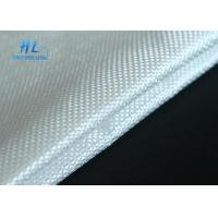 China White Fiberglass Fabric Cloth Heat Insulation For Fireproofing And Silicone Fabric wholesale