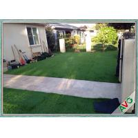 China Anti - UV Healthy Natural Looking Artificial Grass Outdoor Carpet For Children wholesale